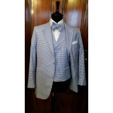 Waistcoat client's fabric