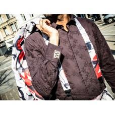 Suspenders client's fabric