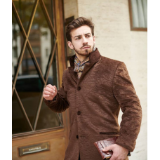 Overcoat client's fabric